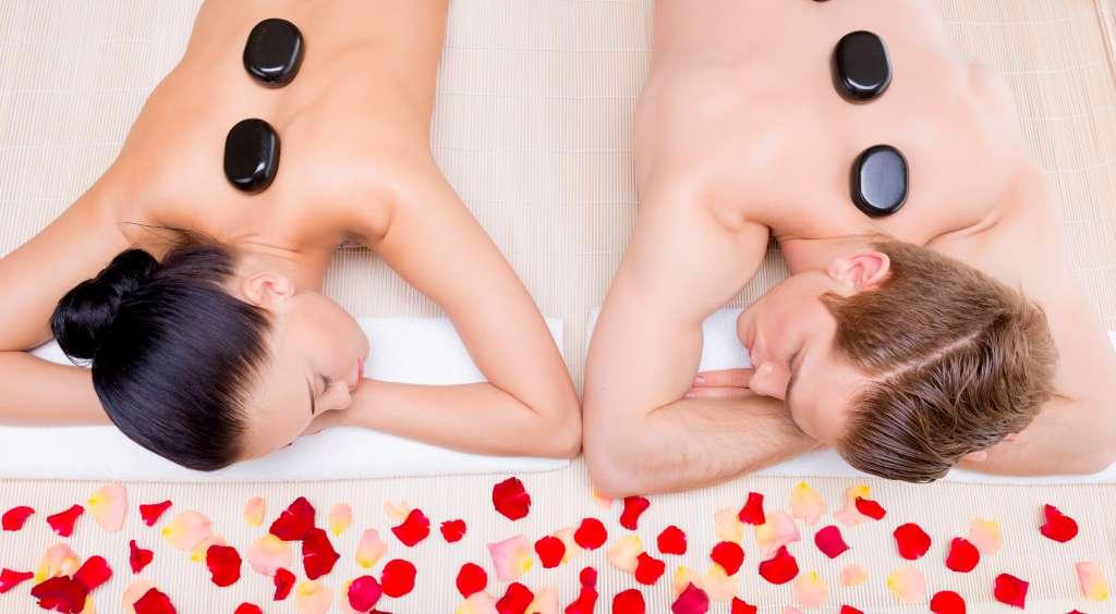 Couple Hot Stone Massage